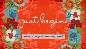 Just begin image